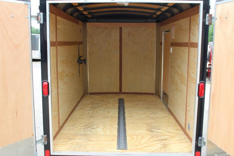 2012 United Trailers 6 x 10 Enclosed Cargo Trailer Used
