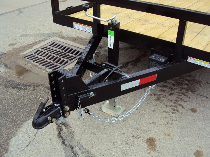 2019 Sure-Trac 7 x 18 Utility Trailer