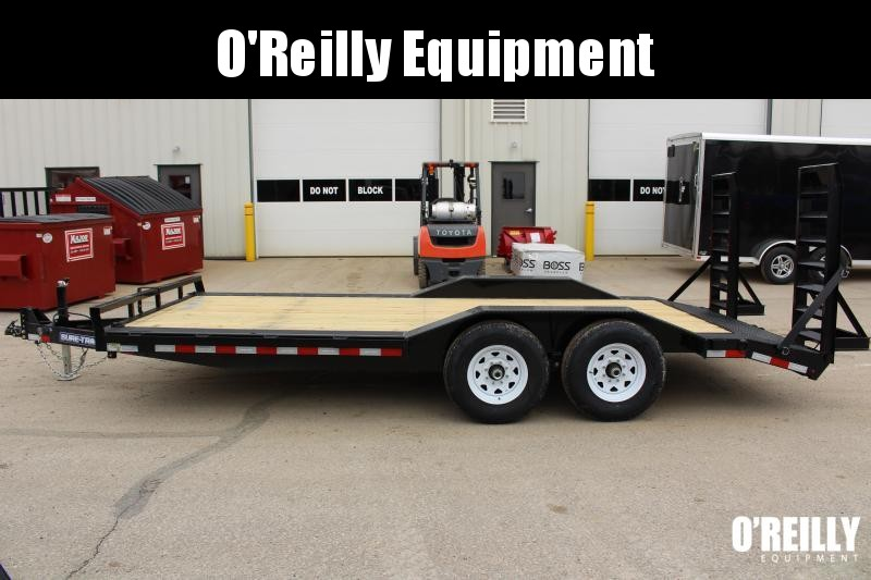 2019 Sure-Trac ST10218FWDF-B-140 Equipment Trailer