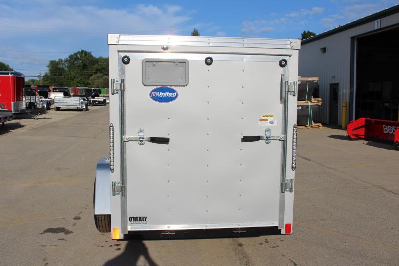 2020 United Trailers XLV 5 x 10 Enclosed Cargo Trailer