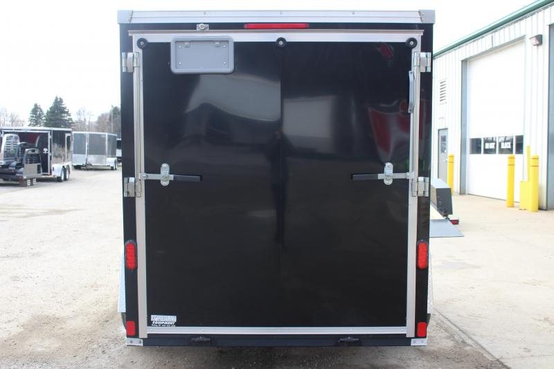 2013 United Trailers XLMTV 6x10 Motorcycle Trailer Used