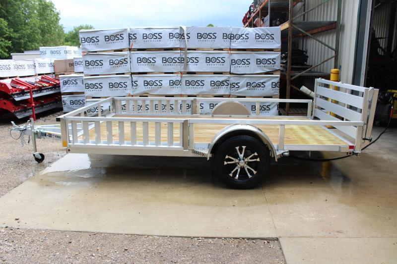 2019 H and H Trailer 6.8 x 12' Utility Trailer