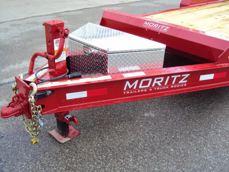 2018 Moritz International 7 x 20 Equipment Trailer
