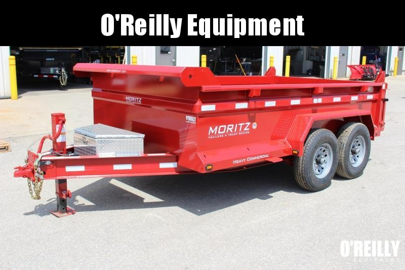 "2019 Moritz International 6'10""x12 HD Dump Trailer in Ashburn, VA"