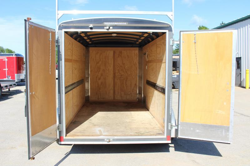 2018 United Trailers 6 x 12' Enclosed Cargo Trailer USED