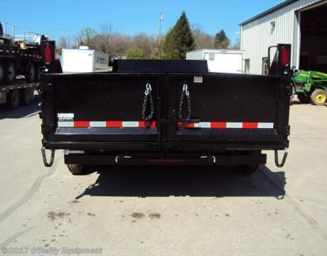 2018 Sure-Trac 7x16 HD Dump Trailer