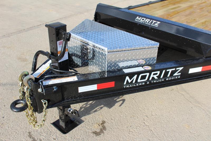 2018 Moritz International 7 x 18 Equipment Trailer