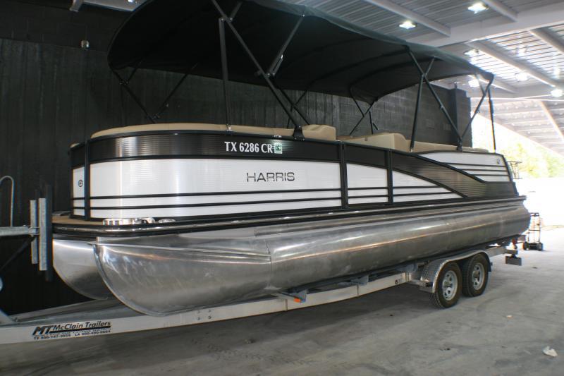 2015 Harris Grand Mariner 250 Tri-Toon