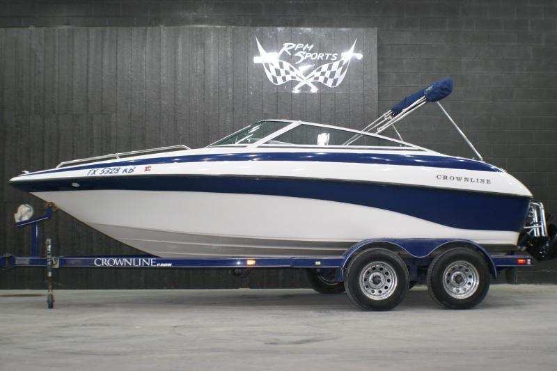 2004 Crownline 192 Runabout Boat/Ski boat