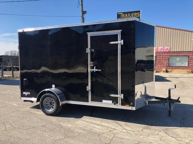2020 Continental Cargo V-Series 6.5X12 Enclosed Cargo Trailer