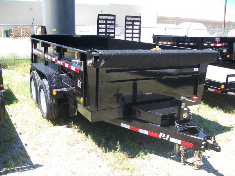 """2019 PJ DL 83""""X14' 14K GVWR Dump Trailer"""