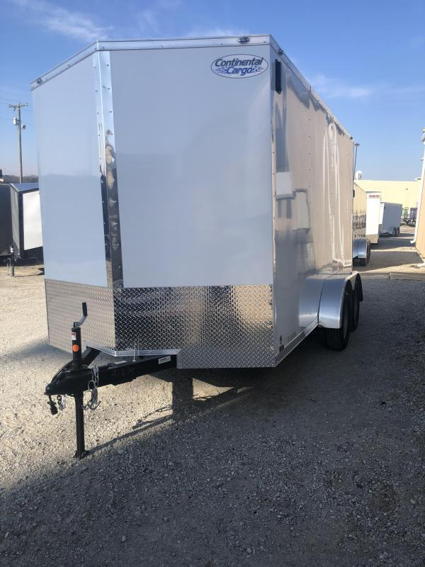 2020 Continental V-Series 7X14 7K GVWR Cargo Trailer $4490