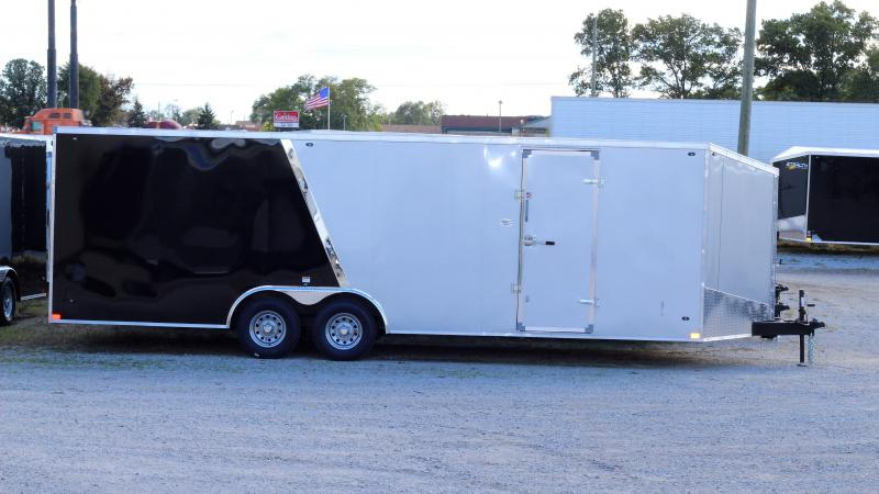 2019 Stealth Titan 8.5X24 10K GVWR Enclosed Car Trailer