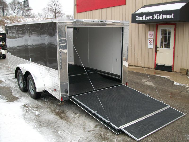 2020 Continental Cargo V-Low 7X14 7K GVWR Motorcycle Trailer