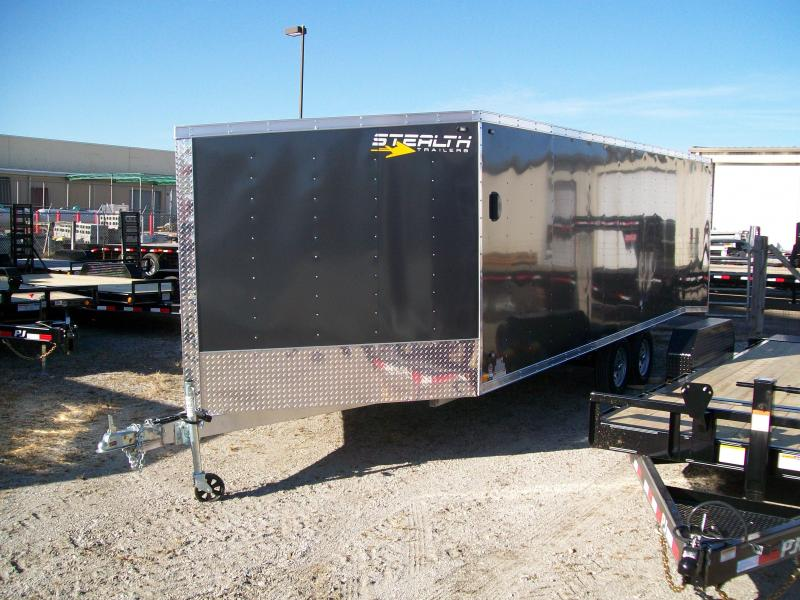 2019 Stealth Apache 8.5X27 7K GVWR Snowmobile Trailer