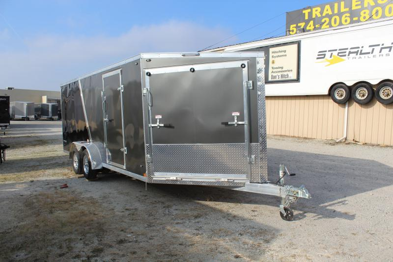 2019 Stealth Predator 7X23 7K GVWR Snowmobile Trailer