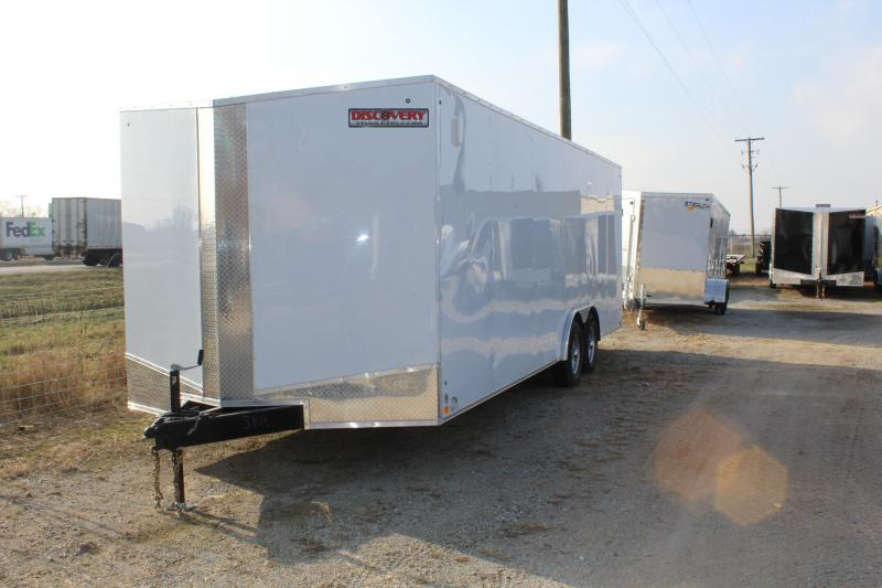 2019 Discovery Challenger ET 8.5X24 10K GVWR Enclosed Car Trailer
