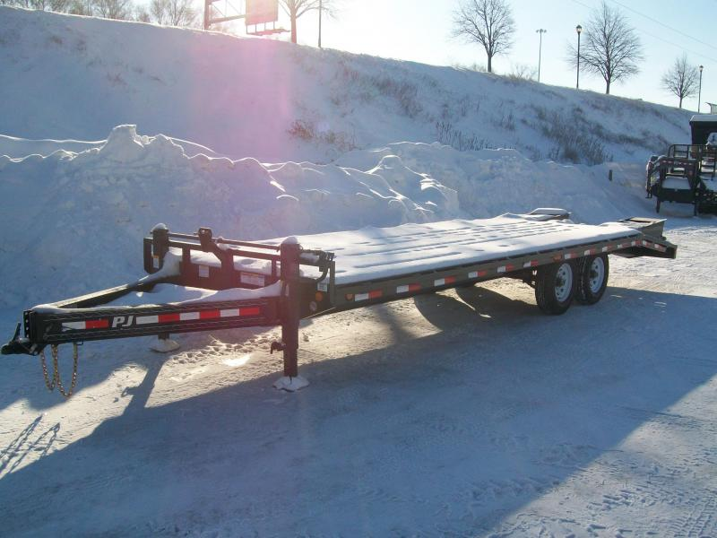 "2019 PJ F8 96""X24' 14K GVWR Deck Over Trailer"