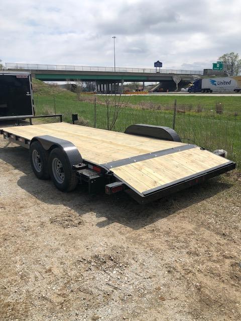 "2020 Quality Steel 83""X20' 10K GVWR Car Trailer"