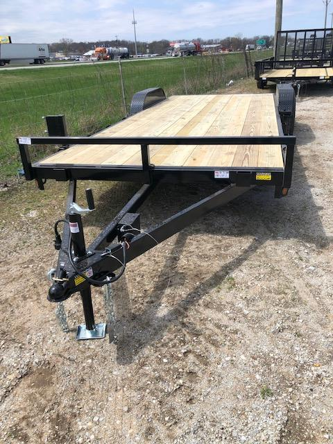 "2020 Quality Steel 83""X20' 10K GVWR Car Trailer"
