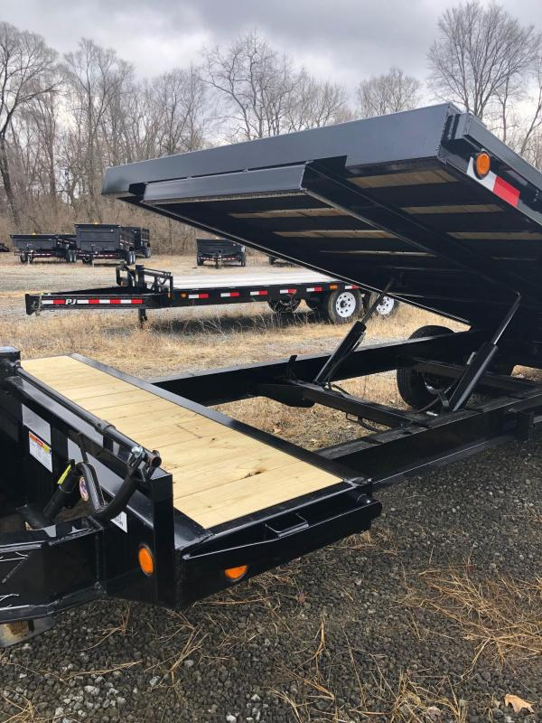 """2019 PJ T8 101""""X24' 14K GVWR Tilt Trailer"""