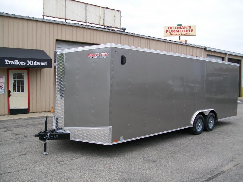 2020 Discovery Challenger ET 8.5X24 7K GVWR Enclosed Cargo Trailer