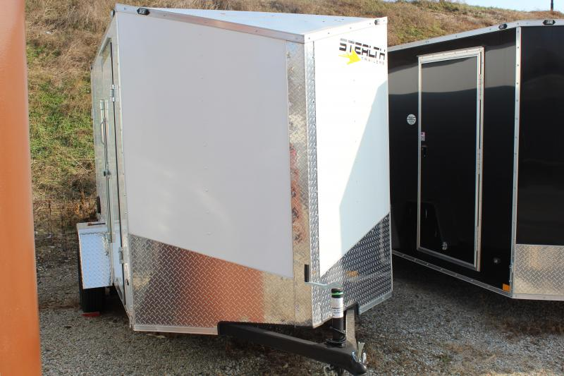 2019 Stealth Mustang 6X14 Enclosed Cargo Trailer