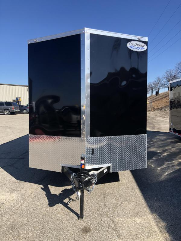 2020 Continental Cargo V-Series 7X14 7K GVWR Enclosed Cargo Trailer
