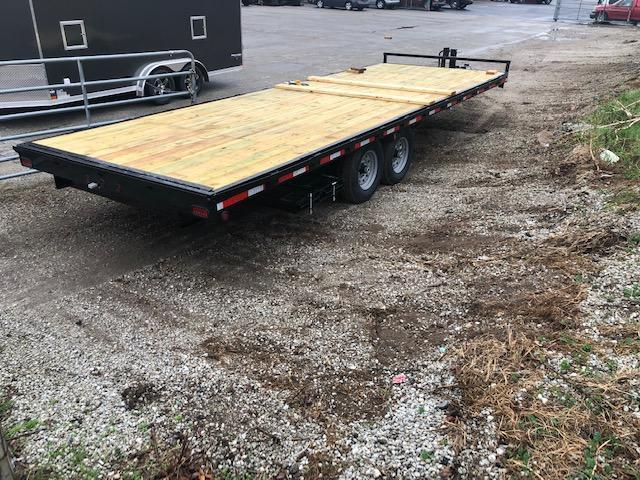 "2020 Quality Steel 102"" X 24' 14K GVWR Deck Over Trailer  $5440"