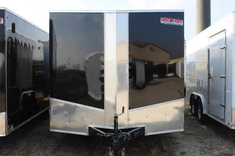 2019 Discovery Challenger ET 8.5X16 7K GVWR Enclosed Car Trailer