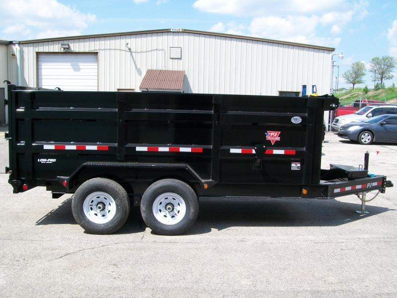 "2020 PJ DM 83"" X 14' 4' High Side 14K GVWR Dump Trailer"