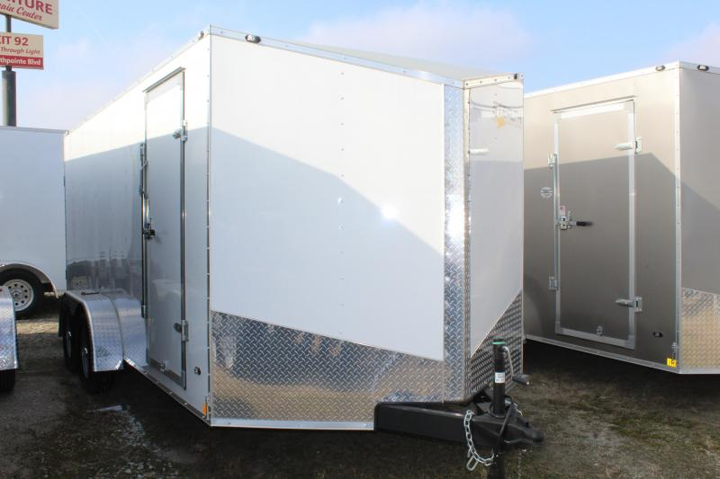 2020 Discovery Rover ET 7X12 7K GVWR Enclosed Cargo Trailer
