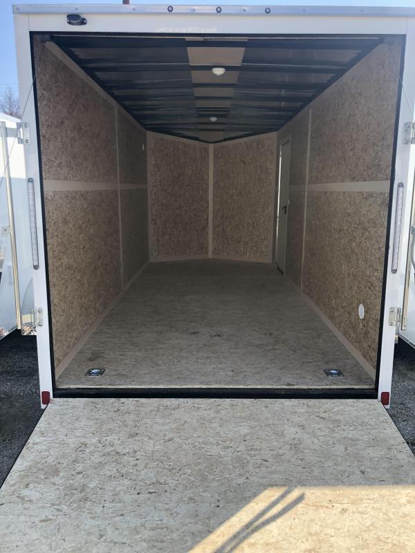 2020 Discovery Rover ET 7X12 7K GVWR Enclosed Cargo Trailer