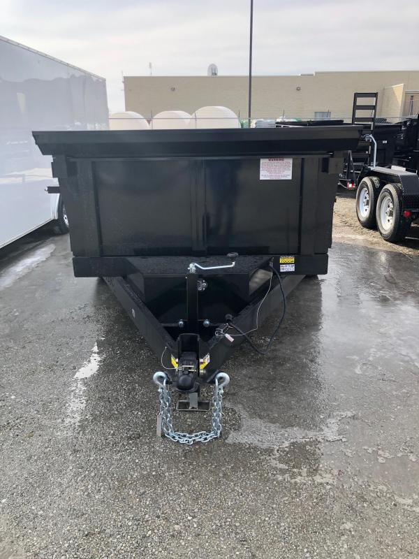 2019 Quality Steel CJ 6X12 10K GVWR Dump Trailer