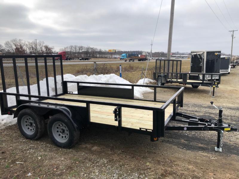 2019 Quality Steel 7X12 7K GVWR Utility Trailer