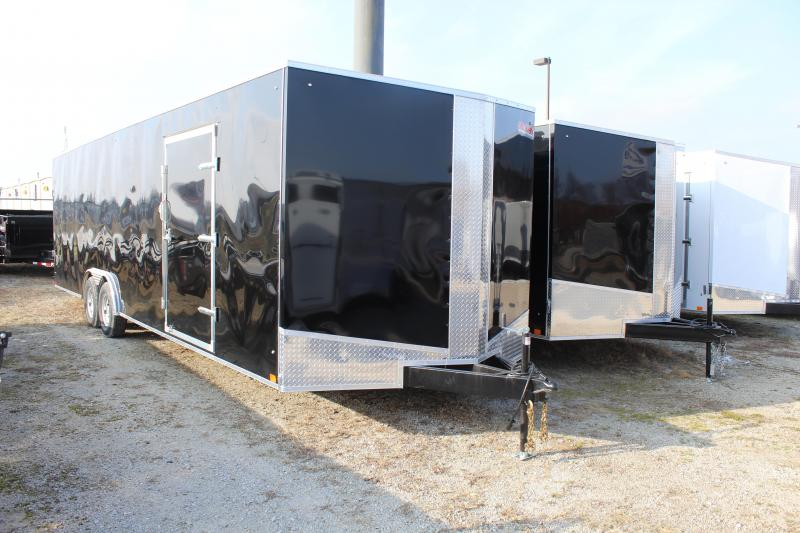 2019 Discovery Challenger ET 8.5X28 10K GVWR Enclosed Car Trailer