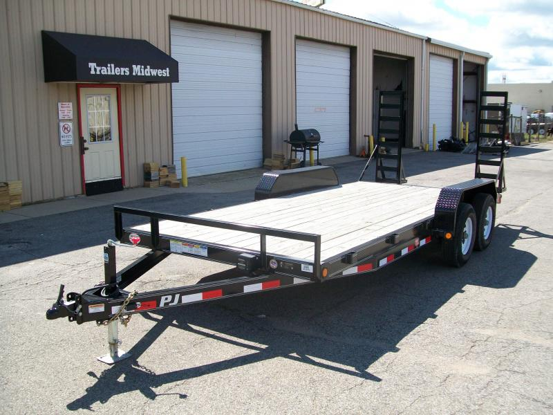 "2019 PJ CE 83""X20' 10K GVWR Equipment Trailer"