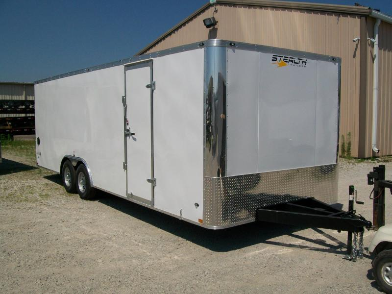 2019 Stealth Titan 8.5X26 10K GVWR Enclosed Car Trailer On Sale $10995