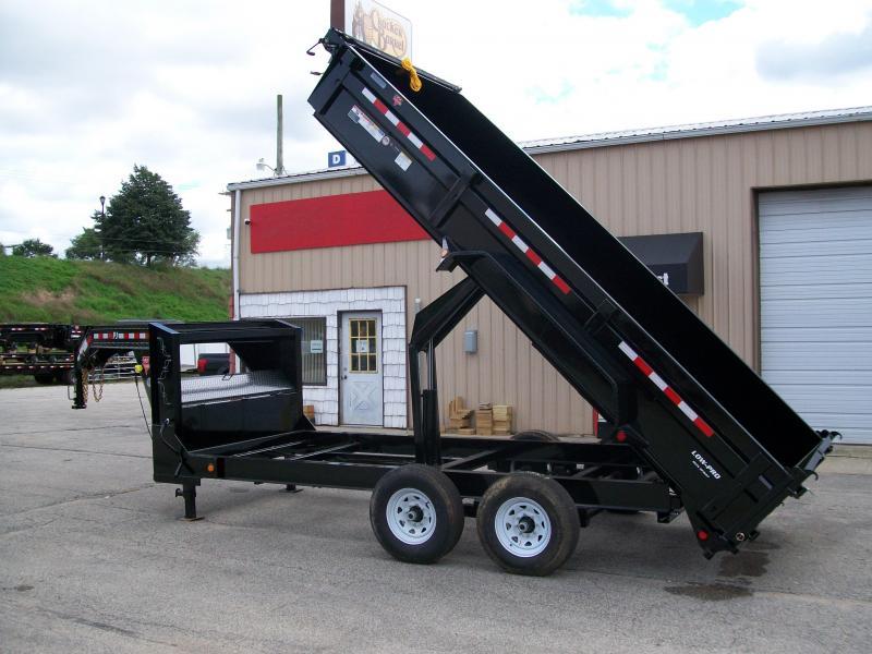 "2020 PJ DL 83""X16' 15680 GVWR Dump Trailer  $9573"