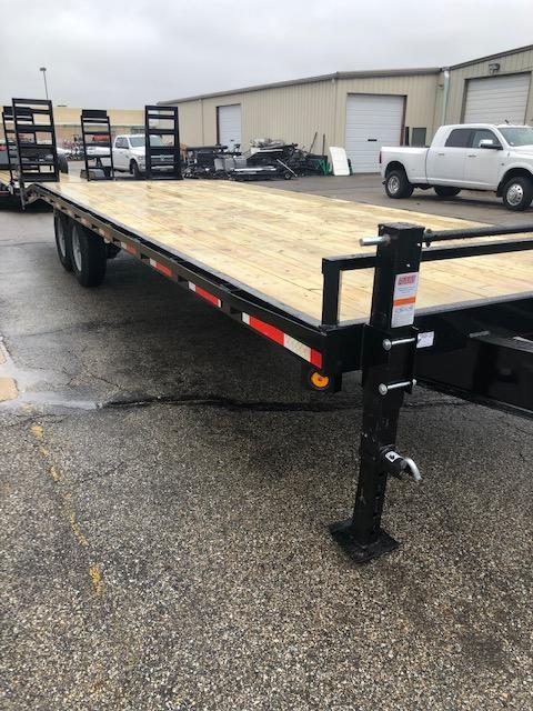 2020 Quality Steel Deck Over Flatbed Trailer $5955