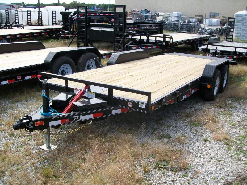 "2019 PJ TH 83""X20' 10K GVWR Tilt Trailer"