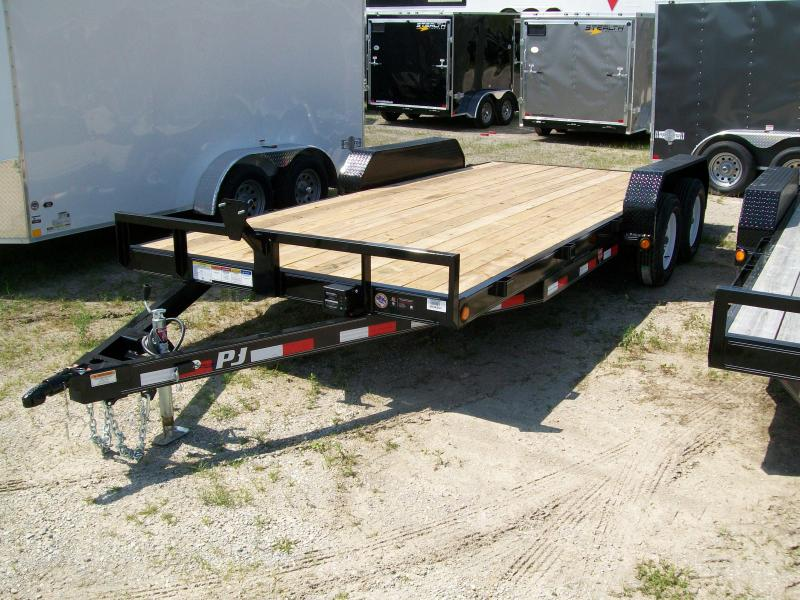 "2019 PJ C5 83""X20' 7K GVWR Car/Equipment Trailer"