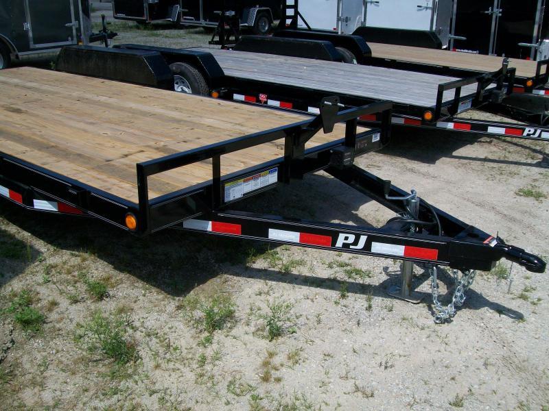 "2019 PJ C5 83""X20' 7K GVWR Car/Equipment Trailer     $3330"