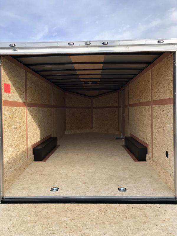 2019 Stealth Mustang 8.5X24 7K GVWR Enclosed Car Trailer