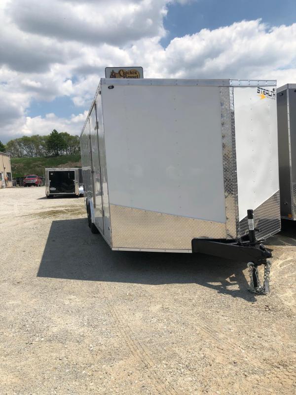 2020 Stealth Mustang 8.5X16 7K GVWR Cargo Trailer $5175