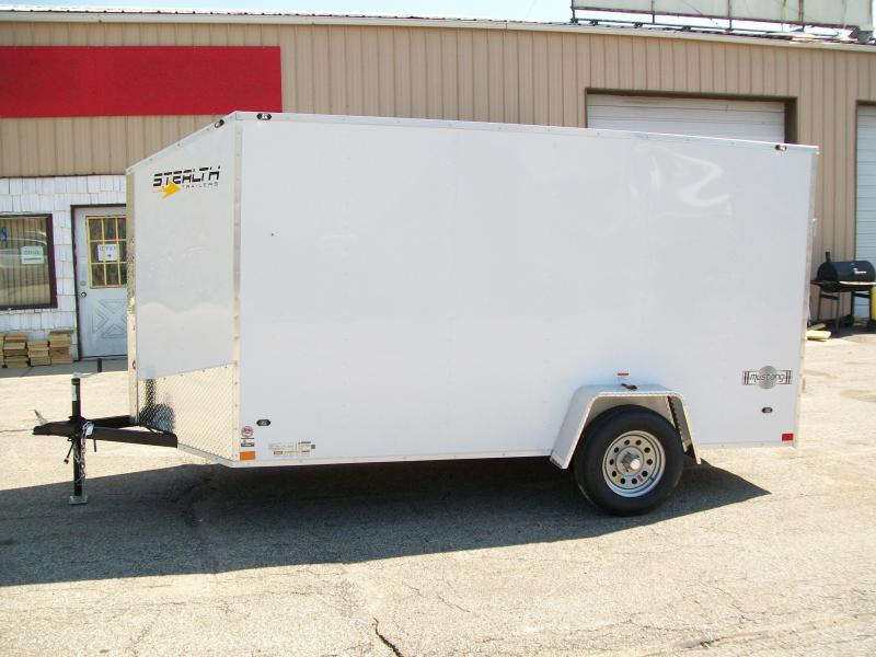 2019 Stealth Mustang 6X12 Single Axle Cargo Trailer $2915
