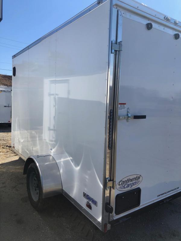 2020 Continental Cargo V-Series 6.5X12 Enclosed Cargo Trailer