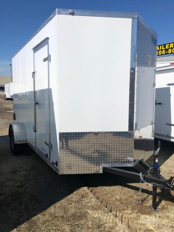 2020 Continental Cargo V-Series 6.5X12 Single Axle Cargo Trailer   $3190