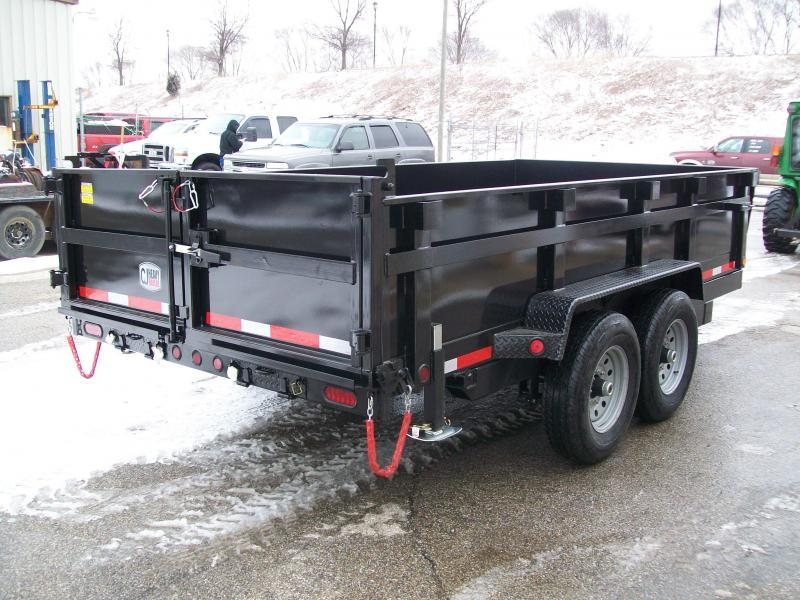 "2019 Quality Steel CJ 83""X14' 14K GVWR Dump Trailer"