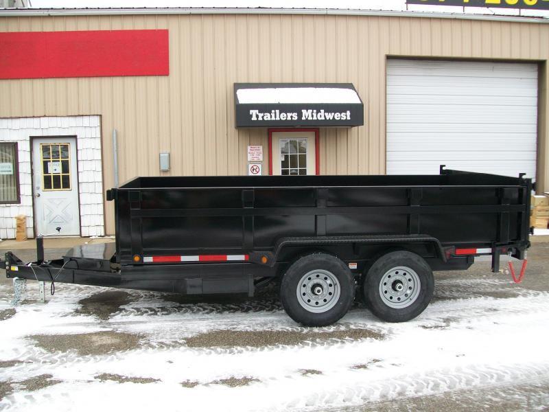 """2020 Quality Steel CJ 83""""X14' 14K GVWR Dump Trailer $6850"""